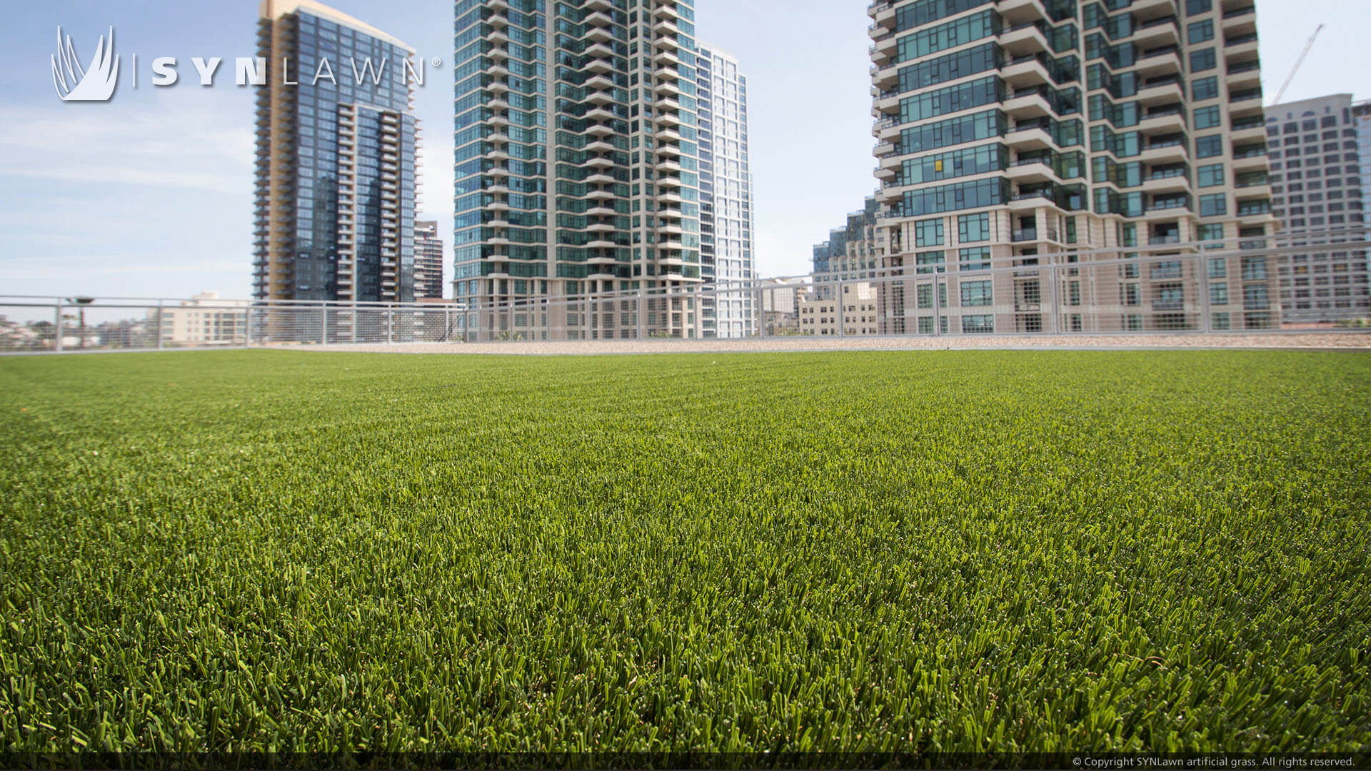 skyline rooftop turf
